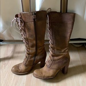 Frye Boots Villager Lace Up Size 8